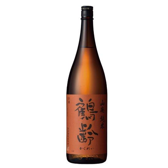 青木酒造 鶴齢 山廃純米 1800ml