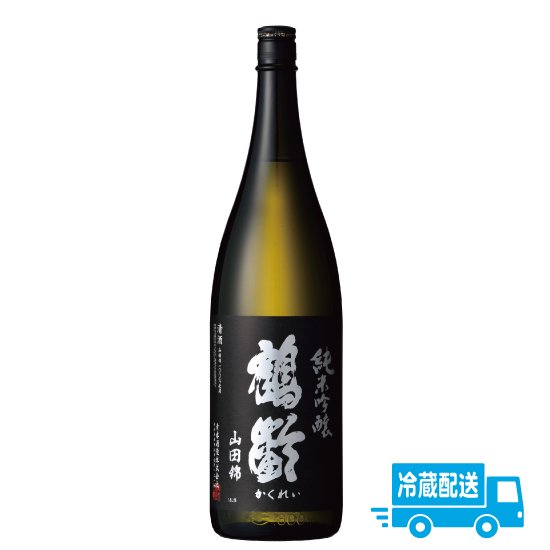青木酒造 鶴齢 純米 美山錦超辛口  1800ml