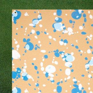 【星見るラグ】ピクニックラグ ブルーストーン ブルー S+