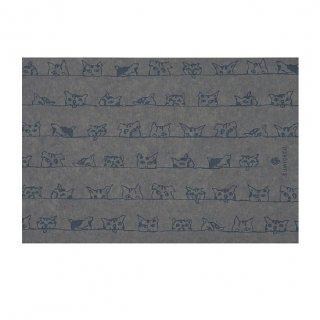 おとなの梅炭再生紙ブックカバー スマイルL(ライト)