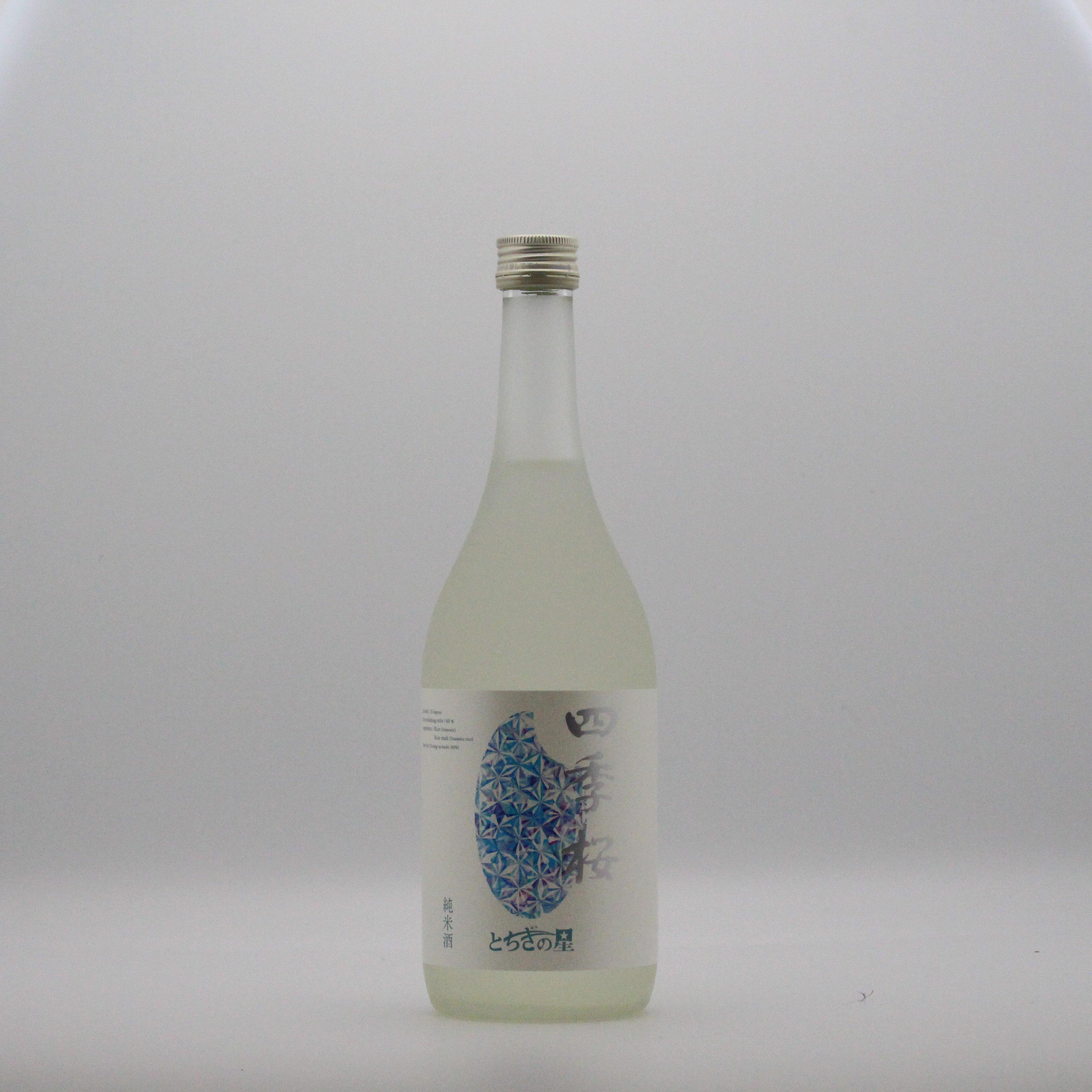 宇都宮酒造/とちぎの星純米酒 720ml