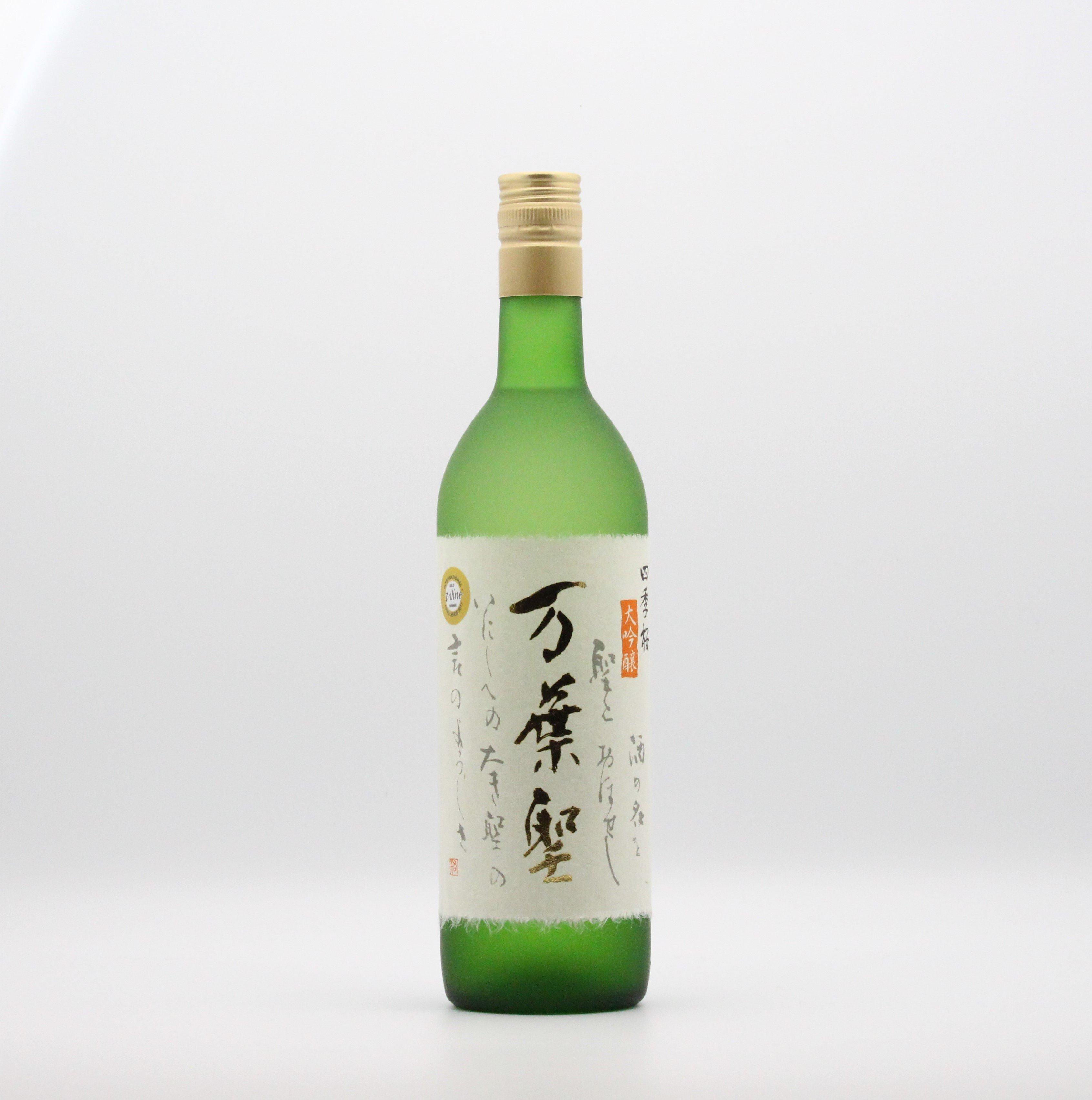 宇都宮酒造/万葉聖(大吟醸酒) 720ml