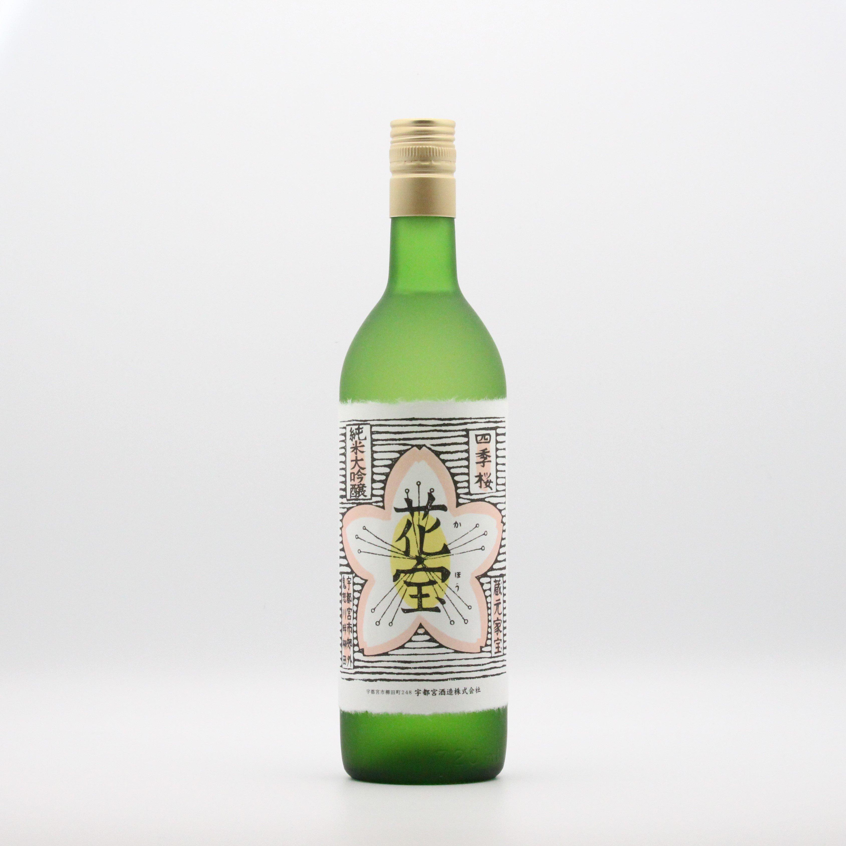 宇都宮酒造/花宝(純米大吟醸酒) 720ml