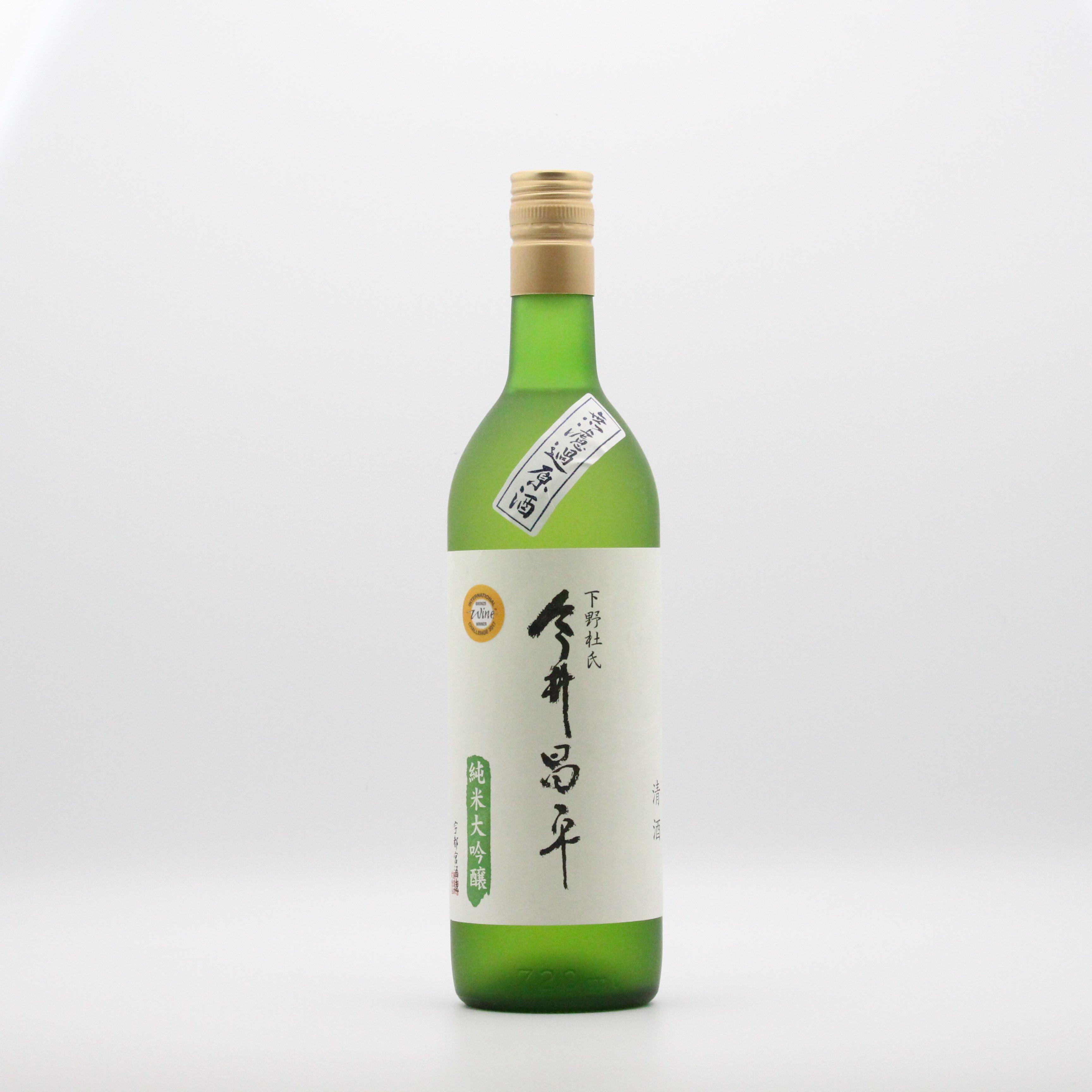 宇都宮酒造/今井昌平(純米大吟醸原酒)) 720ml