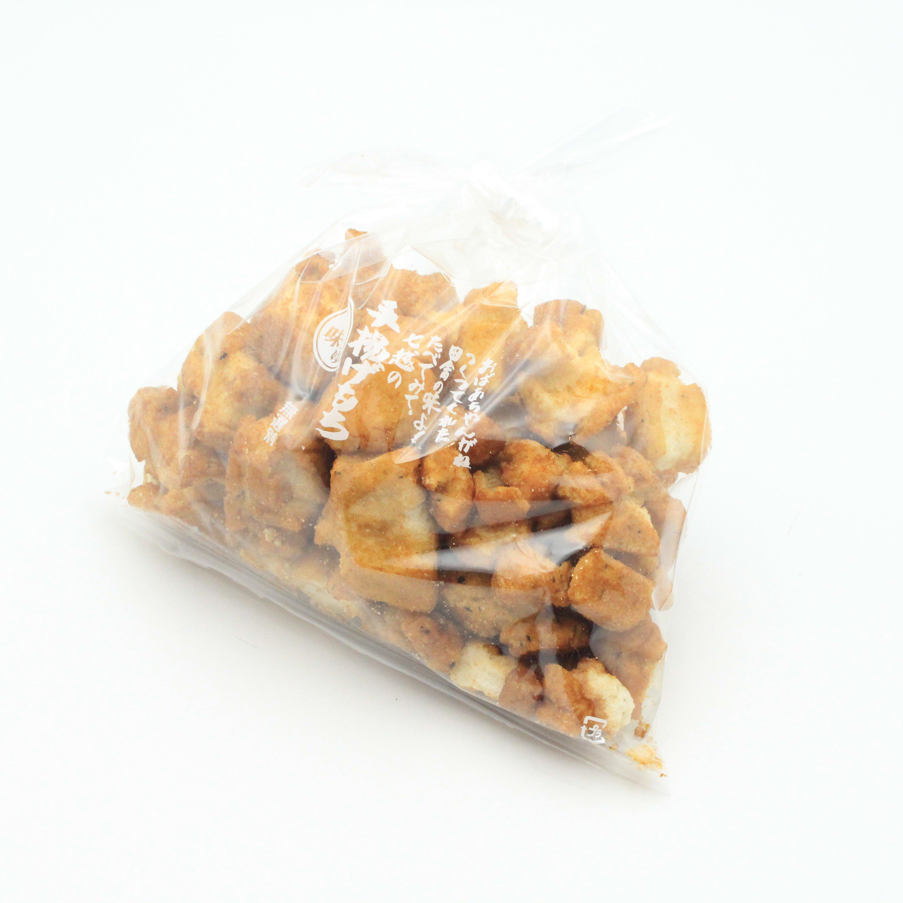 七越製菓/手揚げ餅(大粒)  しょうゆ味 250g