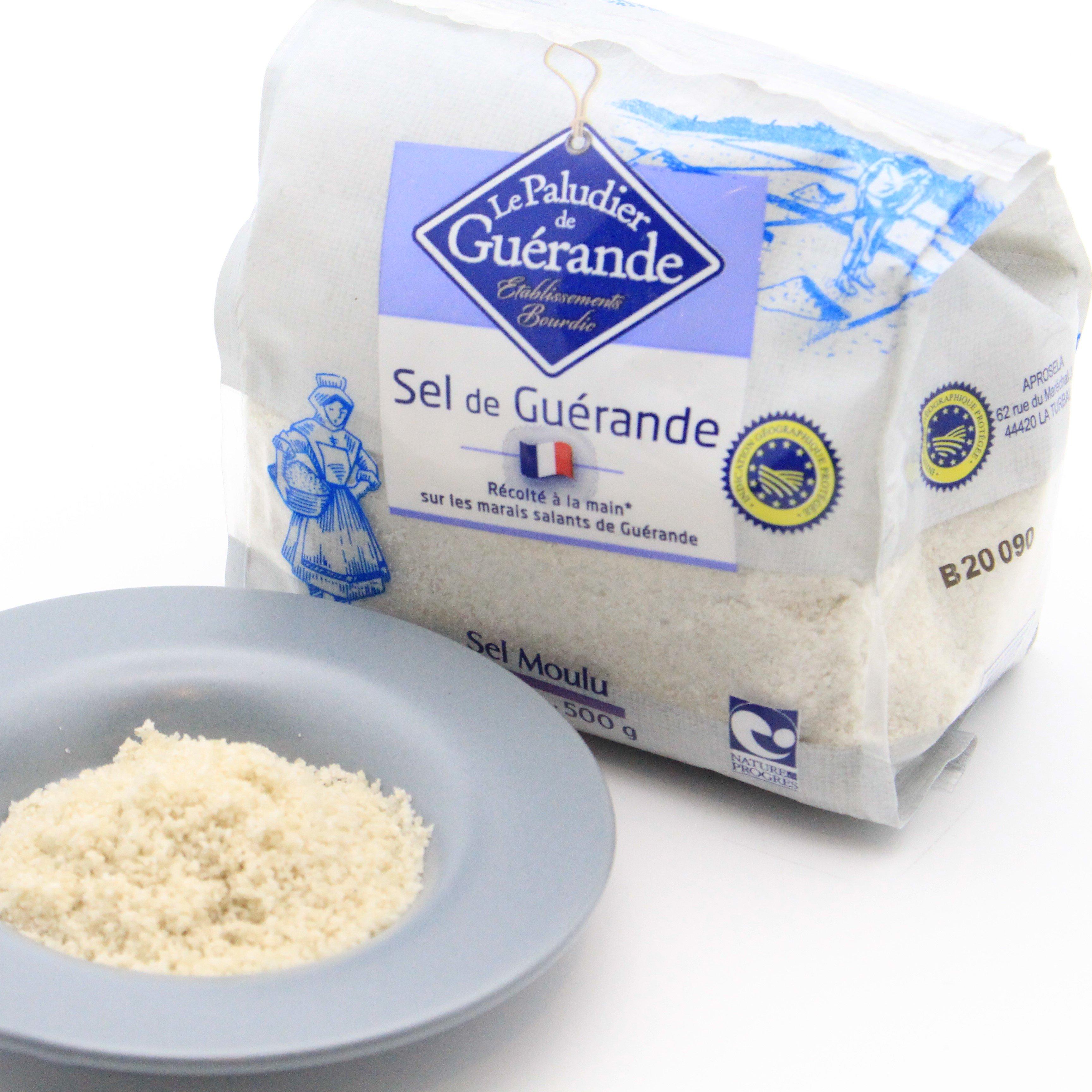 セル・マラン・ド・ゲランド(ゲランドの塩)顆粒 500g
