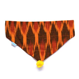KOKO COLLECTIVE コココレクティブ・ヴィーガン・バンダナ  Orange(オレンジ) S/M・M/L