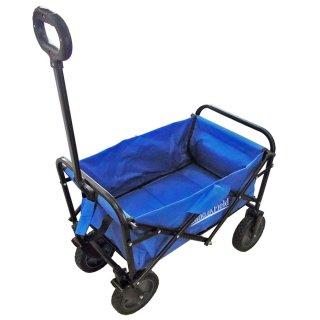 【アウトレット品】アウトドアキャリーワゴン 容量48L コンパクト LF-GT180-BL ブルー