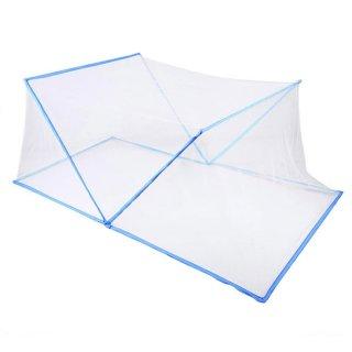 蚊帳 テント アウトドア 折りたたみ カヤ セミダブル 簡単組立 虫よけ 虫対策 LandField LF-MN019-135