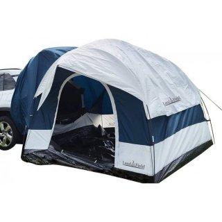 リアゲートハッチバックテント オールシーズン対応 車中泊テント カバー付 LandField LF-CHT020-WHBL