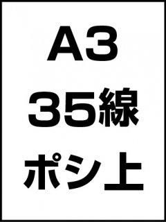 A3・35線・ポシ・膜面上の商品画像