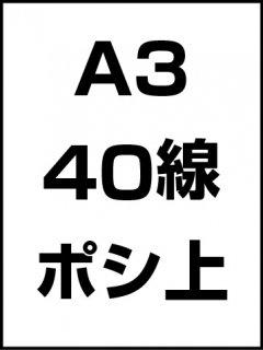 A3・40線・ポシ・膜面上の商品画像