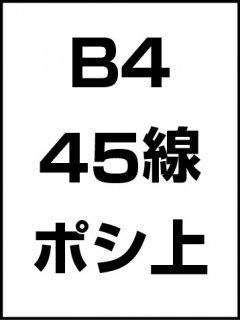 B4・45線・ポシ・膜面上の商品画像