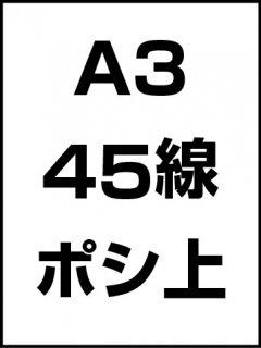 A3・45線・ポシ・膜面上の商品画像