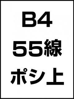 B4・55線・ポシ・膜面上の商品画像