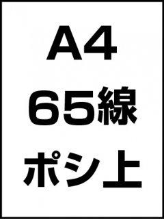A4・65線・ポシ・膜面上の商品画像
