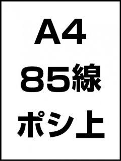 A4・85線・ポシ・膜面上の商品画像