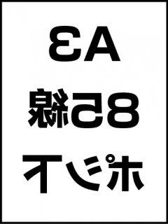A3・85線・ポシ・膜面下の商品画像