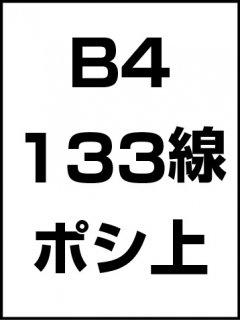 B4・133線・ポシ・膜面上の商品画像