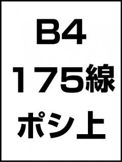 B4・175線・ポシ・膜面上の商品画像