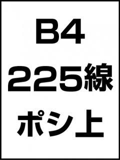 B4・225線・ポシ・膜面上の商品画像