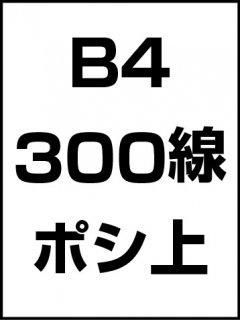 B4・300線・ポシ・膜面上の商品画像