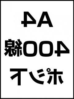 A4・400線・ポシ・膜面下の商品画像