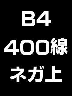 B4・400線・ネガ・膜面上の商品画像