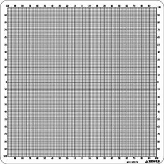 21. 十字座標方眼(20×20�)の商品画像