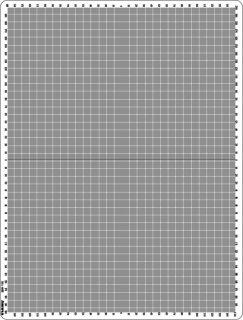 24. 十字座標方眼(30×40�)の商品画像