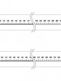 40-C-08. 直線(100,42�)の商品画像