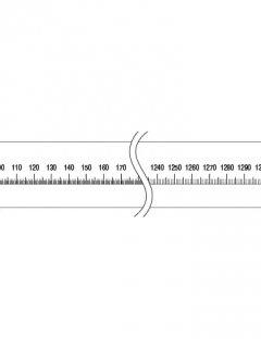 40-C-18. 直線ゲージ(140�)の商品画像
