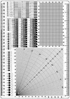 58. 模型等測定透明下敷き(A4)の商品画像