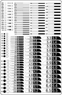 60. ミニチュア製作用(ライン・円・半径)の商品画像