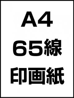 A4・65線・印画紙の商品画像