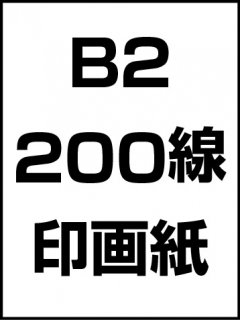 B2・200線・印画紙の商品画像