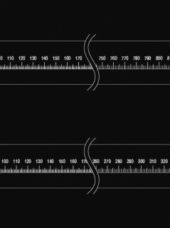 40-C-07w. 直線ゲージ(91,42�)の商品画像