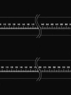 40-C-08w. 直線ゲージ(100,42�)の商品画像