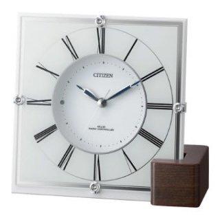 シチズン インテリア電波時計 4RY707-003 掛置兼用時計
