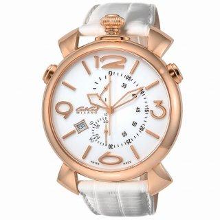 GaGa Milano ガガ ミラノ THIN CHRONO 46MM 5098.01WH-NEW-N メンズ腕時計