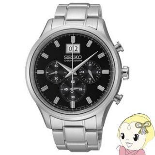 SEIKO クォーツ 腕時計 クロノグラフ SPC083P1 逆輸入品