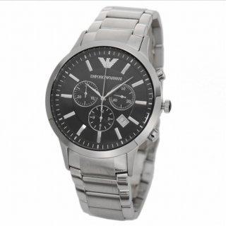 EMPORIO ARMANI AR2434 クロノグラフ メンズ 腕時計
