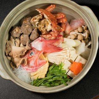 知床きんきと毛蟹の豪華海鮮鍋 2人用