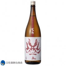 百十郎 赤面(あかづら) 大辛口純米酒 1800mlの商品画像