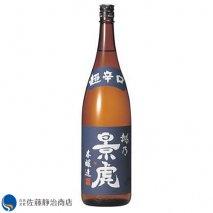諸橋酒造 越乃景虎 超辛口 本醸造 1800mlの商品画像