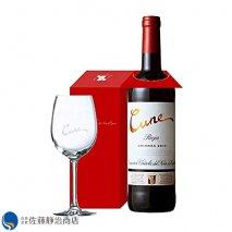 赤ワイン クネ クリアンサ 2016年  オリジナルグラス付き 750mlの商品画像