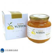 香味フルーツ茶シリーズ 香味柚子  ユジャロン 580gの商品画像