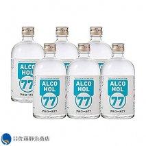 菊水酒造 アルコール 77 500ml 6本(1ケース)の商品画像