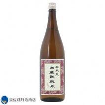 群馬泉 山廃純米酒 1800mlの商品画像