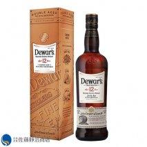 ウイスキー デュワーズ 12年 700ml 40% ブレンドウイスキーの商品画像